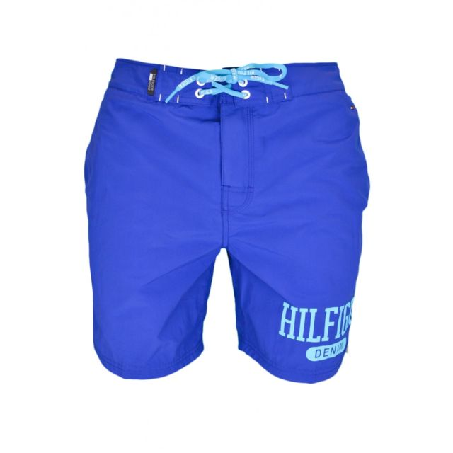 buy online best value buying cheap Short de bain bleu pour homme