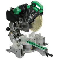 Hitachi - Scie radiale à coupe d'onglet diam 305 mm 1520 W C12RSH2