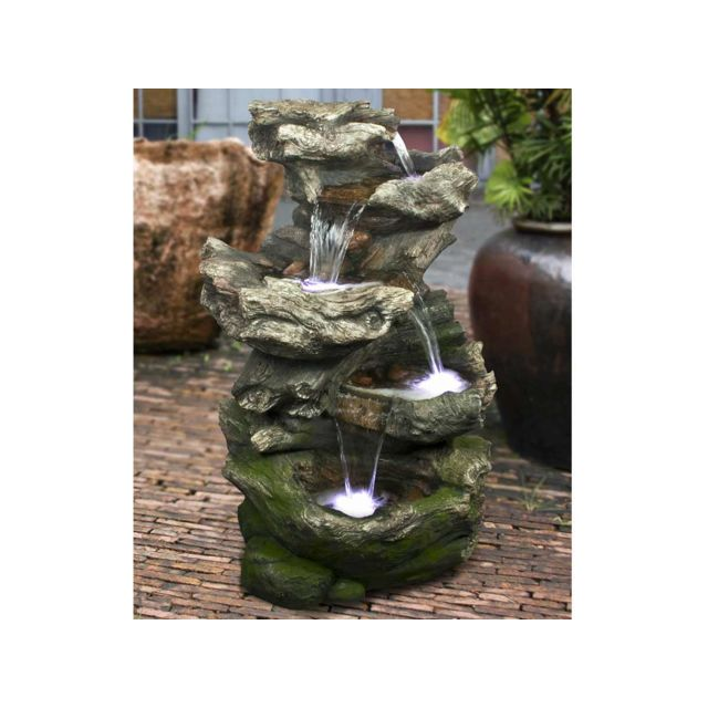 Fontaine de jardin pas cher trendy ubbink fontaine de jardin norfolk rochers avec cascade et - Petite fontaine de jardin pas cher ...