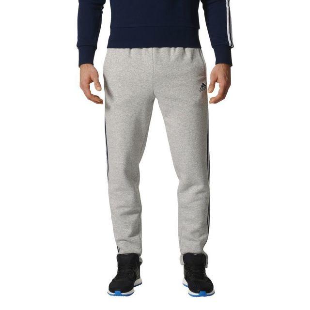 Adidas Pantalon 3s tapered fleece essentials Gris XS