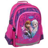 Frozen - Violetta Sac à dos scolaire cartable école fille enfant Disney - Rose