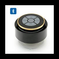 Auto-hightech - Enceinte Bluetooth étanche Ventouse Contrôle musique Réponse aux appels Microphone