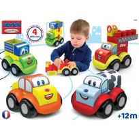 ABRICK - MAXI - Coffret véhicules puzzle 3D - 7771