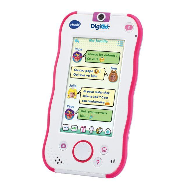 Vtech Portable Pour Enfants Digigo Rose 168855 Pas Cher
