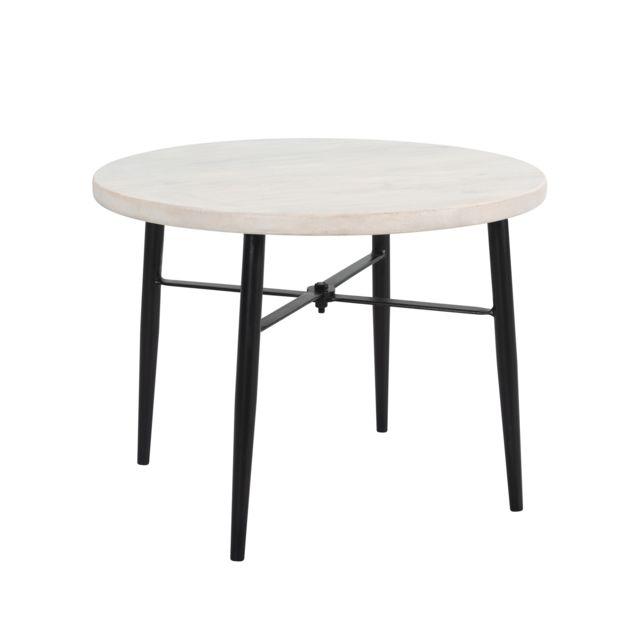 Rendez Vous Deco Table basse Pacha en bois de manguier