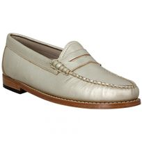 Bass Weejuns - Gh Bass & Co Weejuns Penny Metal Femme-39-Or