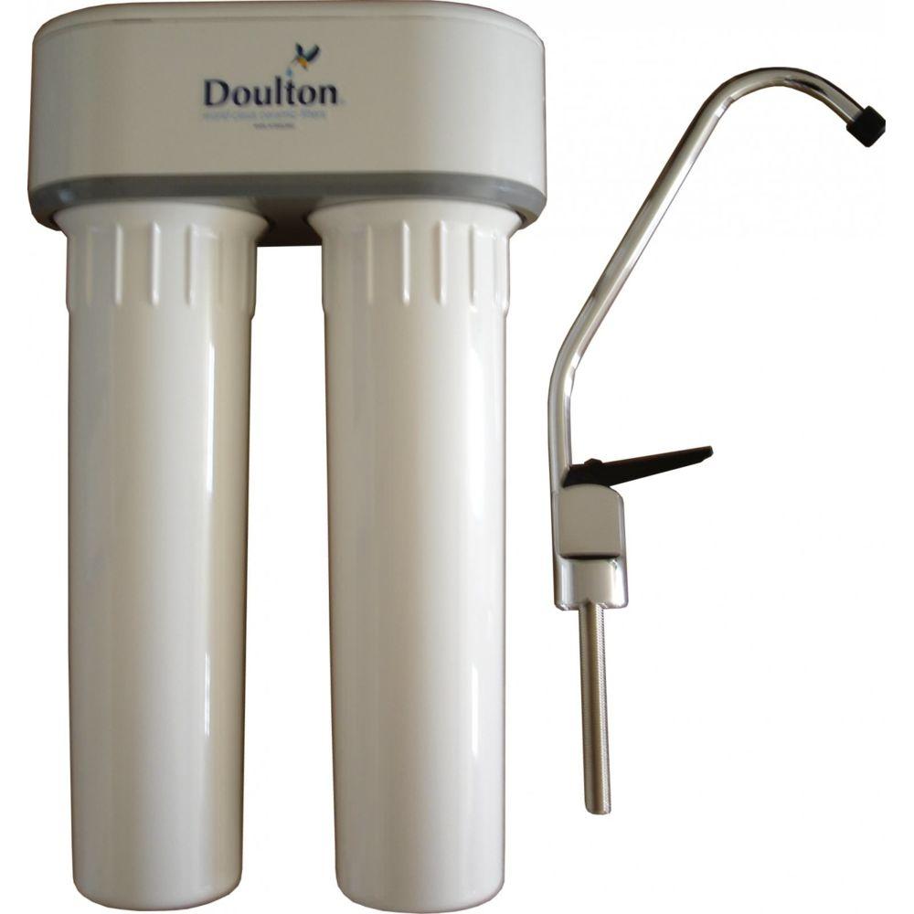 Aqua-techniques - Filtre à eau Doulton Duo + raccord T 3/8