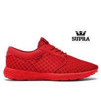 Supra - Baskets Hammer Run Red Red Mono 08127-605-M