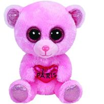 Ty - Ty36142 - Peluche - Beanie Boo'S - Small - City Bear - Paris