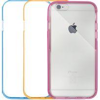 Case Scenario - Lot de 3 bumpers pour iPhone 6/6S