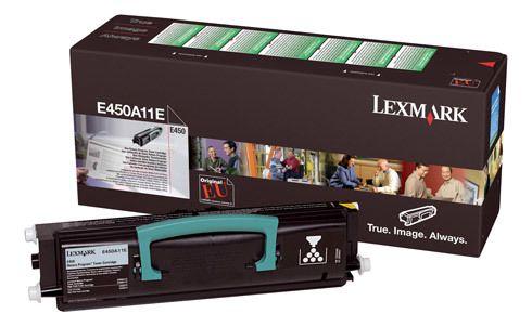 Lexmark Toner imprimante laser noir E450A11E