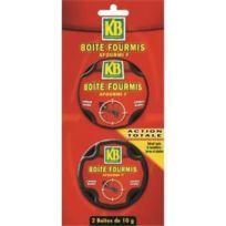 Kb - Fourmis 2 Boîtes Appât De 10g
