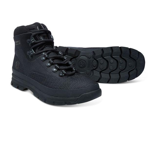 Timberland - Chaussures Euro Hiker Jacquard Black Noir