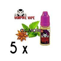 Vampire Vape - Lot 5 e-liquides Black Ice - 12mg soit 4,90 euros le flacon 10ml