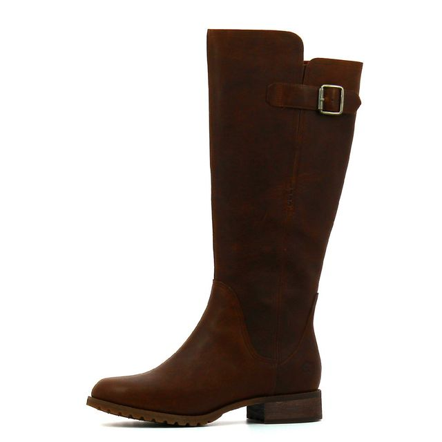 bottes cuir timberland