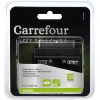 CARREFOUR - Adaptateur péritel 1 x scart vidéo mâle
