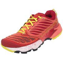 Lasportiva - Chaussures running trail La sportiva Akasha ld berry trail Rose 13286