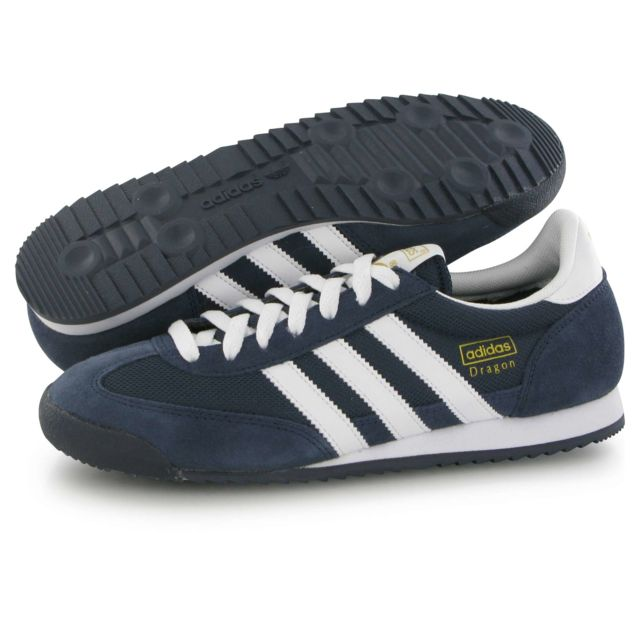 Adidas originals - Dragon bleu, baskets mode homme