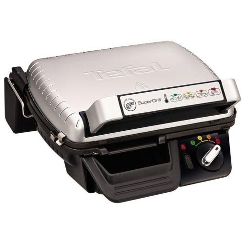 Tefal grill viandes gc450b32 inox noir pas cher achat vente pierrade grill - Grill viande tefal gc3050 ...