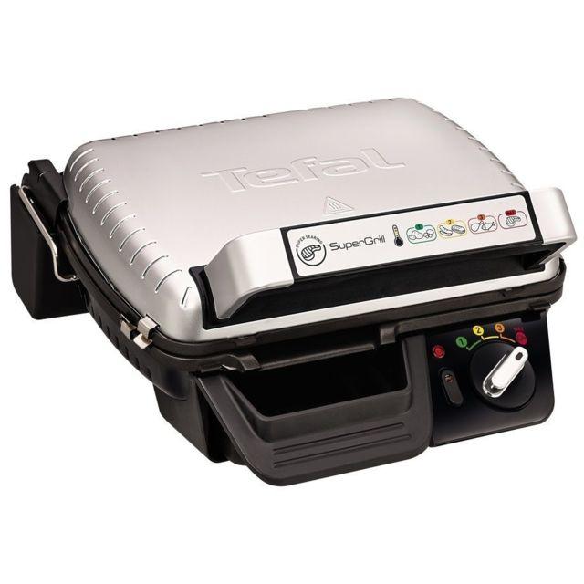 TEFAL Grill viandes - GC450B32 - Inox/Noir