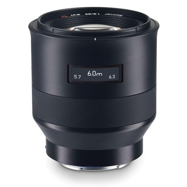 Zeiss Objectif Batis 85 mm f/1,8 Sony Fe + paresoleil