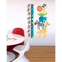 Forwalls - Messlatte Dschungel Sticker Mural