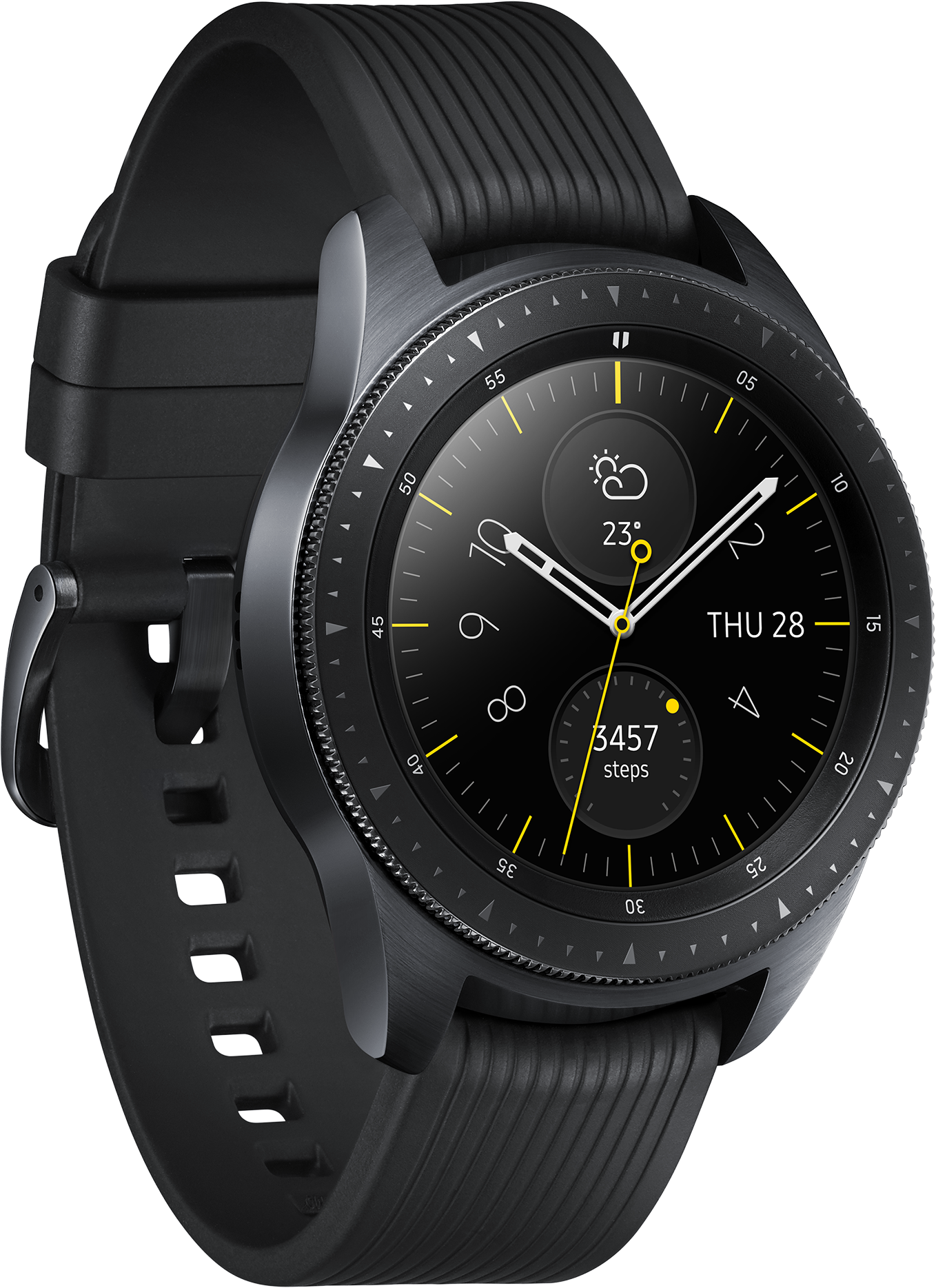 Montre connectée Galaxy Watch Active Samsung Noir Carbone