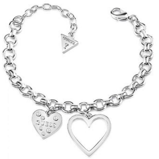 a8192fe2f4ba Guess - Bracelet Ubb84035 - Bracelet Métal Argent Femme Nc - pas ...