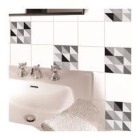 carrelage 15x15 blanc achat carrelage 15x15 blanc pas cher rue du commerce. Black Bedroom Furniture Sets. Home Design Ideas