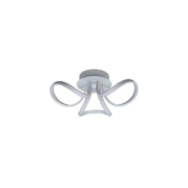 Plafonnier Led Mantra 6035 Knot Blanc 1x36w q5L3AcRj4