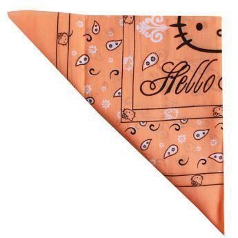 62be12c4087 Hello Kitty - Foulard bandana - 9 coloris au choix - pas cher Achat   Vente  Casquettes enfant - RueDuCommerce