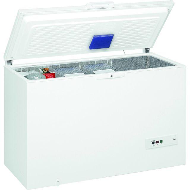 Whirlpool congélateur coffre 140cm 390l a++ blanc - whm39112