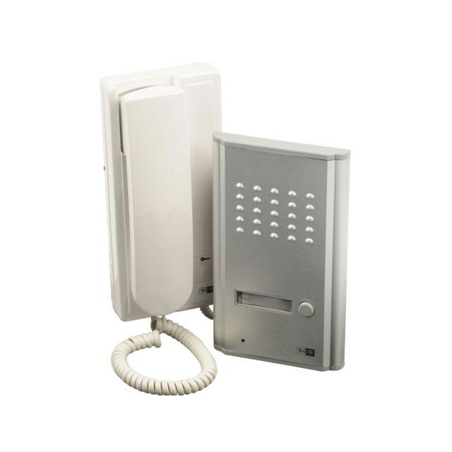 scs sentinel interphone audio fils audiokit d audiokit d with bodner portier video couleur sans fil. Black Bedroom Furniture Sets. Home Design Ideas