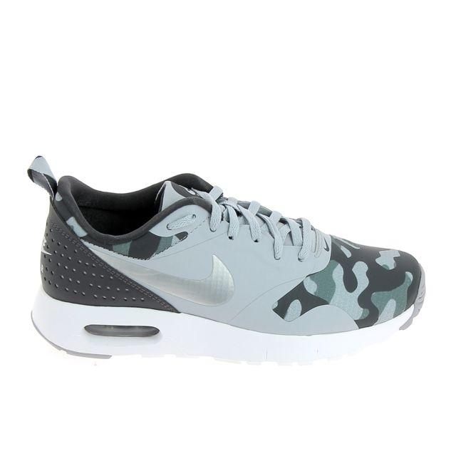 newest 5875d edf60 Nike - Air Max Tavas Se Jr Gris Imp - pas cher Achat   Vente Baskets enfant  - RueDuCommerce