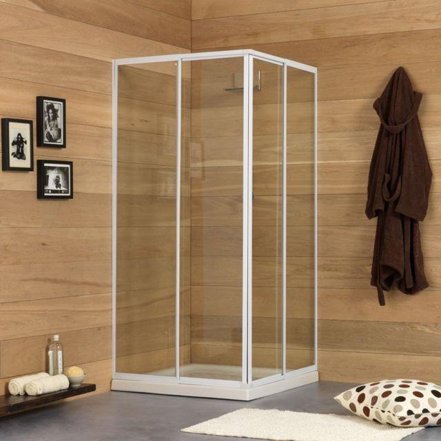 kiamami valentina cabine de douche economique extensible 70 80 erice pas cher achat vente. Black Bedroom Furniture Sets. Home Design Ideas