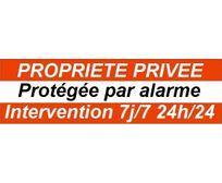 Cfp Securite - Stick-2 - Deux autocollants dissuasifs alarme pour porte ou fenêtre