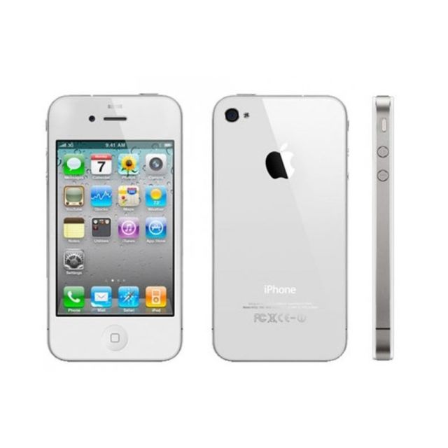destockage apple iphone 4s blanc 8go reconditionn comme. Black Bedroom Furniture Sets. Home Design Ideas