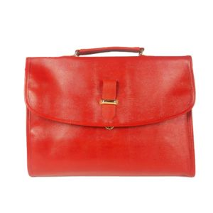 MAISON FUTEE Serviette Portedocuments Simili Cuir Rouge Pas - Serviette porte document