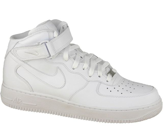 Nike Air Force 1 Mid 07 315123 111 Blanc 47 pas cher