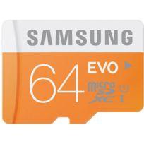 Samsung - Carte Micro SD EVO 64 Go classe 10