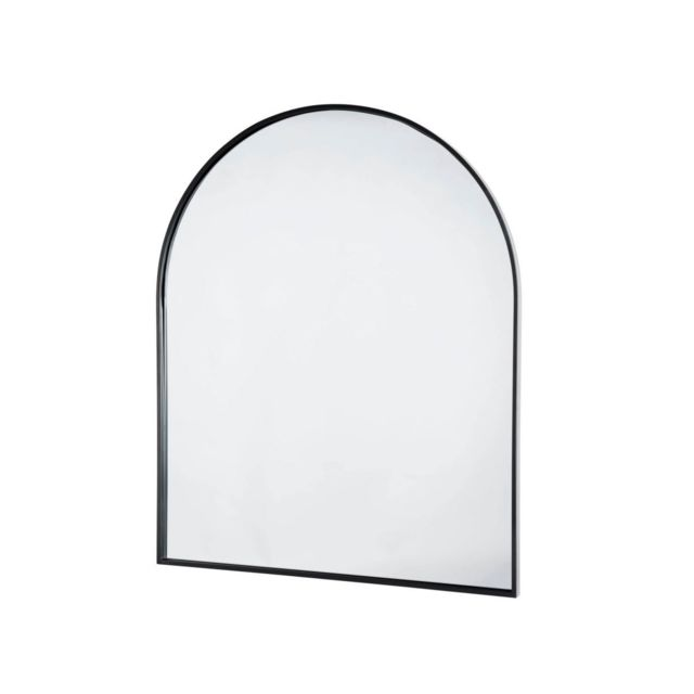Bobochic Miroir forme arc métal noir Jiosa