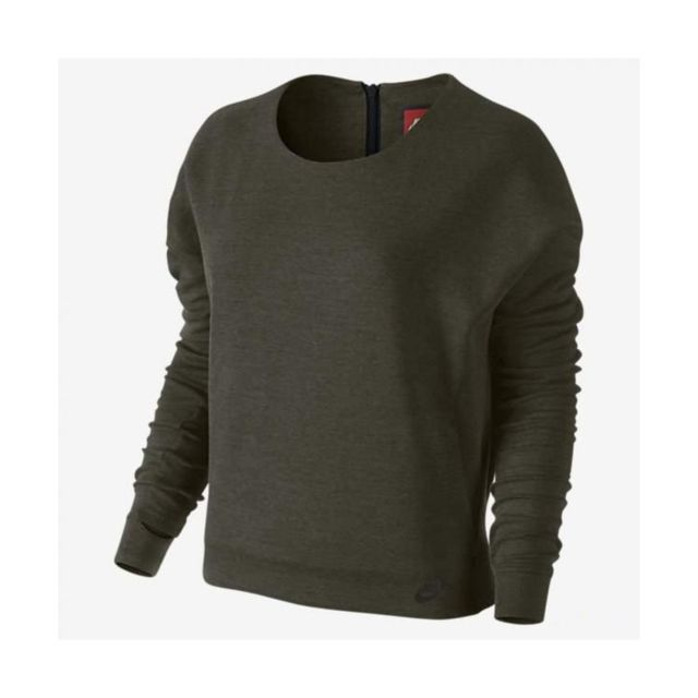 Nike - Sweat Tech Fleece Crew - 685748-325 - pas cher Achat   Vente ... c459283e9b1