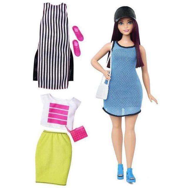 93a7c2db154 Barbie - Fashionistas Tenue 38 - pas cher Achat   Vente Poupées -  RueDuCommerce