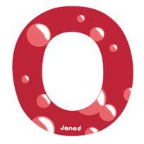 Janod - Lettre décorative en bois O