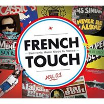 - Compilation - French Touch Vol.1 - Electronic music made in France Coffret digipack