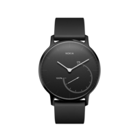 Steel Special Edition Full Black- Acier noir/ Bracelet noir