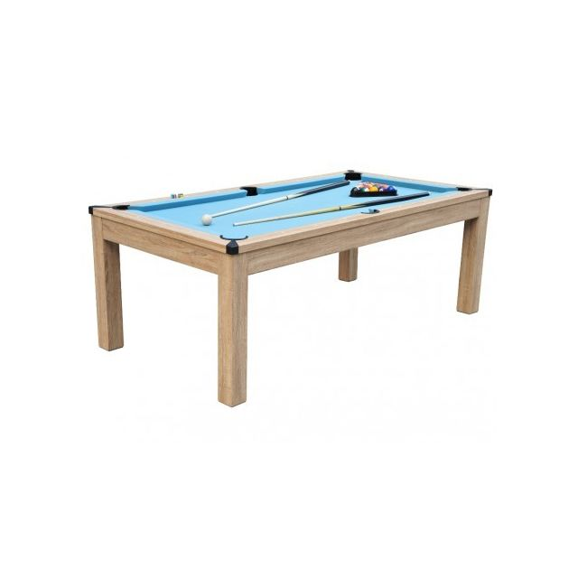 Vente Unique Table Transformable Billard Ping Pong Balthazar