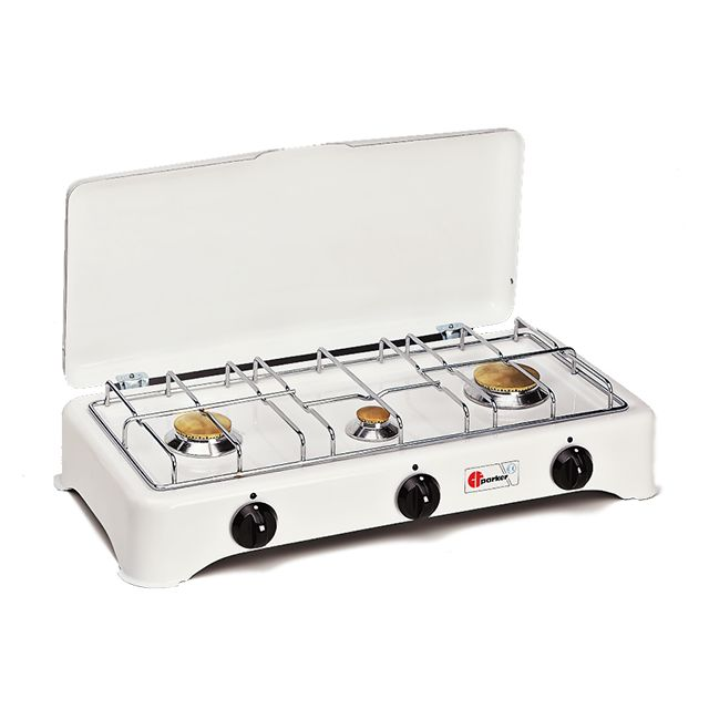 PARKER réchaud gaz 3 feux - 5327c