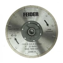 Feider - lame diamant 185 mm fdl 185 db