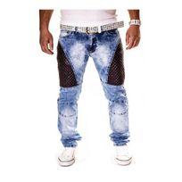 Kc 1981 - Jeans bi matière homme Kc1981 125 Bleu